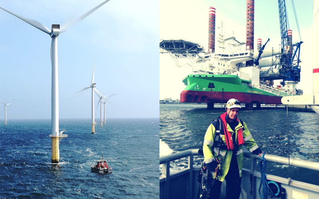 Onderhoud van offshore power-installaties